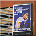 J3473 : 'Harp' advert, Belfast by Rossographer