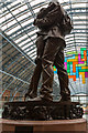 TQ3082 : St Pancras International Station, London N1 by Christine Matthews