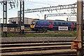SJ3890 : First TransPennine Class 185, 185121, Alstom train depot, Wavertree by El Pollock