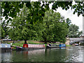 TL4559 : Houseboats on the Cam by Kim Fyson