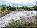 NT3054 : Spillway, Gladhouse Reservoir by Oliver Dixon