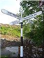 NT5870 : Rural East Lothian : ELCC Fingerpost In Garvald by Richard West