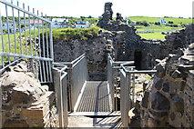 NS2515 : Walkway in Dunure Castle by Billy McCrorie