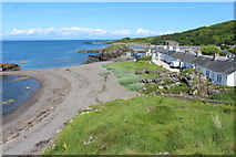 NS2515 : Shore at Dunure by Billy McCrorie