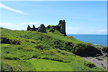 NS2515 : Dunure Dovecot and Castle by Billy McCrorie