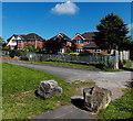 ST0380 : Clos Brenin houses in Brynsadler by Jaggery