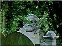TQ2887 : Karl Marx Monument, Highgate Cemetery by Jim Osley