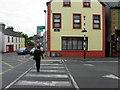 G8839 : Pedestrian crossing, Manorhamilton by Kenneth  Allen