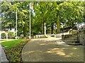 SD5817 : Astley Park, War Memorial by David Dixon