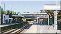 TQ2663 : Sutton Station, Epsom Downs platforms by Ben Brooksbank