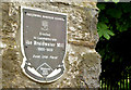 D1003 : Braidwater Mill plaque, Ballymena by Albert Bridge