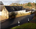 ST2789 : Stepped farm building, Rogerstone, Newport  by Jaggery