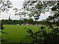 SJ8594 : Playing field by Bob Harvey