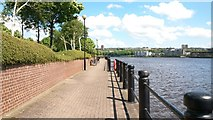 NZ2362 : Riverside Footpath, Newcastle Business Park by Graham Robson