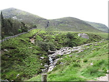 J3629 : The confluence of the Black Stairs River and the Glen River by Eric Jones