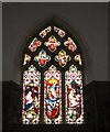 TM3973 : Stained Glass Window of St. Andrew's Church by Adrian Cable