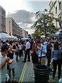 TQ2878 : Elizabeth Street Party by PAUL FARMER