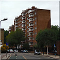 TQ2983 : Block of flats on Goldington Street by David Lally