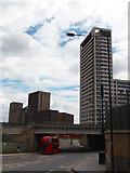 TQ3084 : Bus on York Way by David Lally