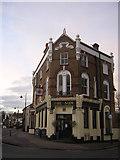 TQ2764 : The Sun, corner of North Street and Mill Lane, Carshalton by Christopher Hilton