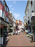 TQ8209 : George Street, Hastings by Chris Whippet