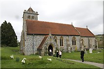 SU8695 : Visiting Church by Bill Nicholls