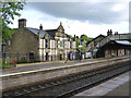 SK0181 : The Jodrell Arms at Whaley Bridge station by Alan Murray-Rust