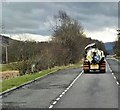 NN4627 : Passing a Layby on the A85 by David Dixon
