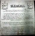 NY5919 : Historical plaque, Sleagill by Karl and Ali