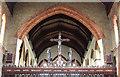 TQ2773 : St Mary Magdalene, Trinity Road - Rood by John Salmon