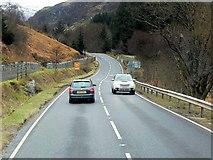 NN5528 : A85 Southbound in Glen Ogle by David Dixon