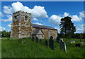 SK6500 : The disused St Giles church by Mat Fascione