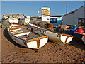 SX9372 : Rowing boats, Teignmouth by Alan Hunt