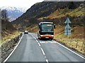 NN5627 : Scotline Tours Coach in Glen Ogle by David Dixon