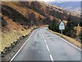 NN5726 : A85 in Glen Ogle by David Dixon