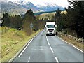 NN5825 : HGV in Glen Ogle by David Dixon
