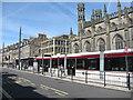 NT2574 : Tram at York Place by M J Richardson