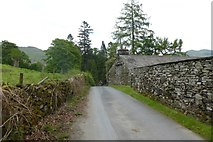 NY3204 : Approaching Elterwater by DS Pugh