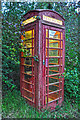 ST0721 : Appley : Telephone Box by Lewis Clarke