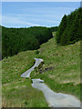 SN7957 : Mountain road to Tregaron, Ceredigion by Roger  Kidd