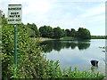TM2844 : Fishing Lake by Keith Evans