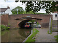 SK1705 : Lichfield Road Bridge, Hopwas by Alan Murray-Rust