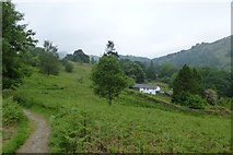 NY3404 : Path on Neaum Crag by DS Pugh