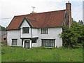 TM4074 : Holly Tree Farmhouse, Bramfield (listed building) by Roger Jones