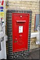 TL4657 : Postbox, Cambridge Station by N Chadwick