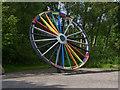 SK2503 : Rainbow wheel by Alan Murray-Rust