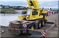 J5082 : Crane, Bangor harbour by Rossographer
