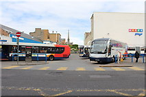 NS3321 : Stagecoach Bus Depot, Ayr by Billy McCrorie