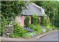 NT6436 : Cottage gardens, Smailholm by Jim Barton