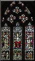 TQ6821 : East Window, St Thomas Becket church, Brightling by Julian P Guffogg
